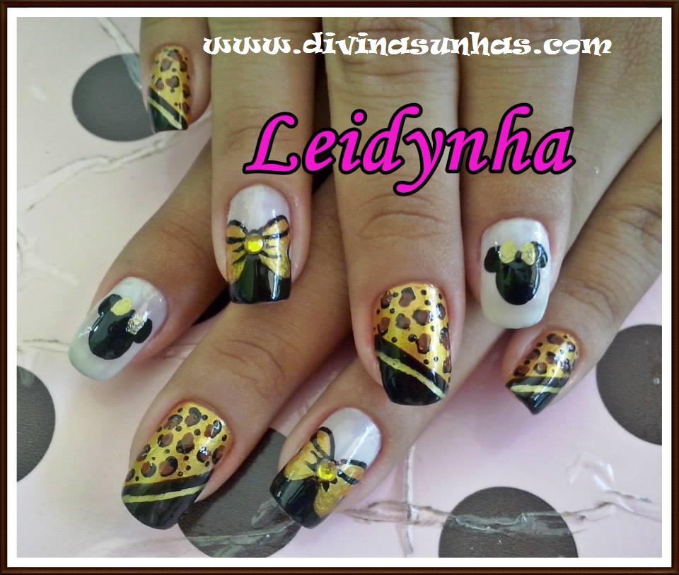belas decorações de unhas com leidynha4