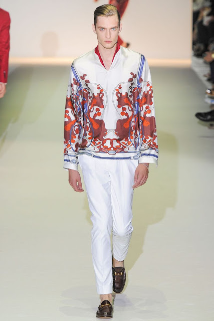 Male model Nick Rae S/S 2013 Gucci