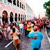 Maratón de baile en la Plaza Grande
