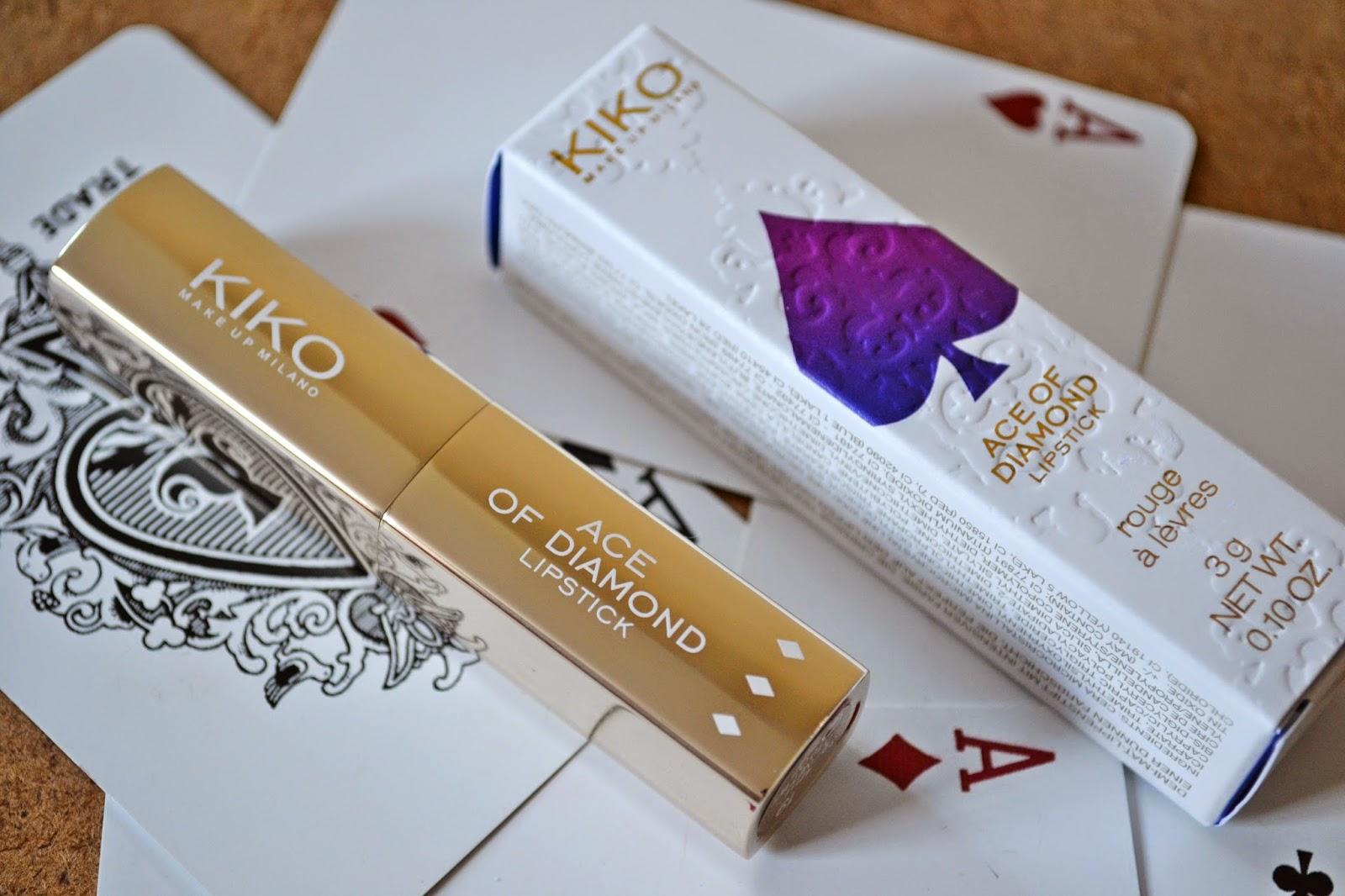 KIKO Make Up Milano Ace of Diamond Lipstick 19 Hypnotic Coral - Aspiring Londoner