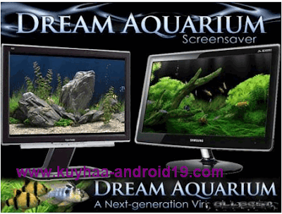 DREAM AQUARIUM 1.2592 SCREENSAVER