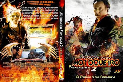 Motoqueiro Fantasma 2 Espírito de Vingança DVD Capa