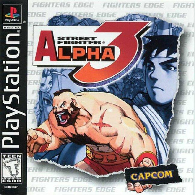 Street fighter alpha 3 conhecido como street fighter zero 3 tem um