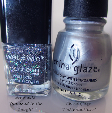 wet and wild and china glaze nail polish
