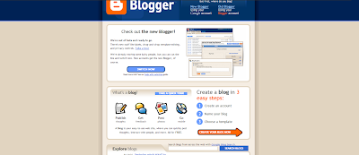 Blogger 2006 accounts switch