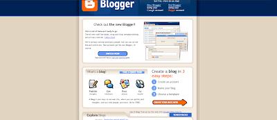 Blogger 2006 accounts switch