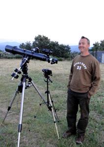 lunette astronomique de 120 mm