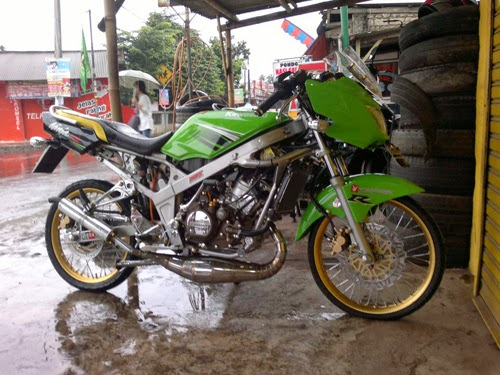 ide modifikasi ninja r super kips