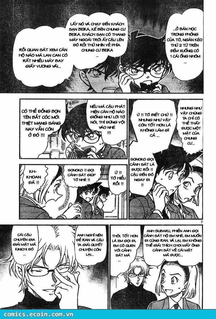 Thám Tử Lừng Danh Conan - Chapter 640 - Pic 7
