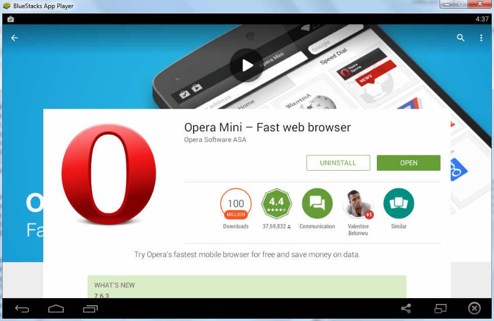 Download Opera Mini for Symbian - free - latest version