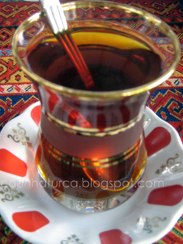 Chá Turco (Türk Çayı)