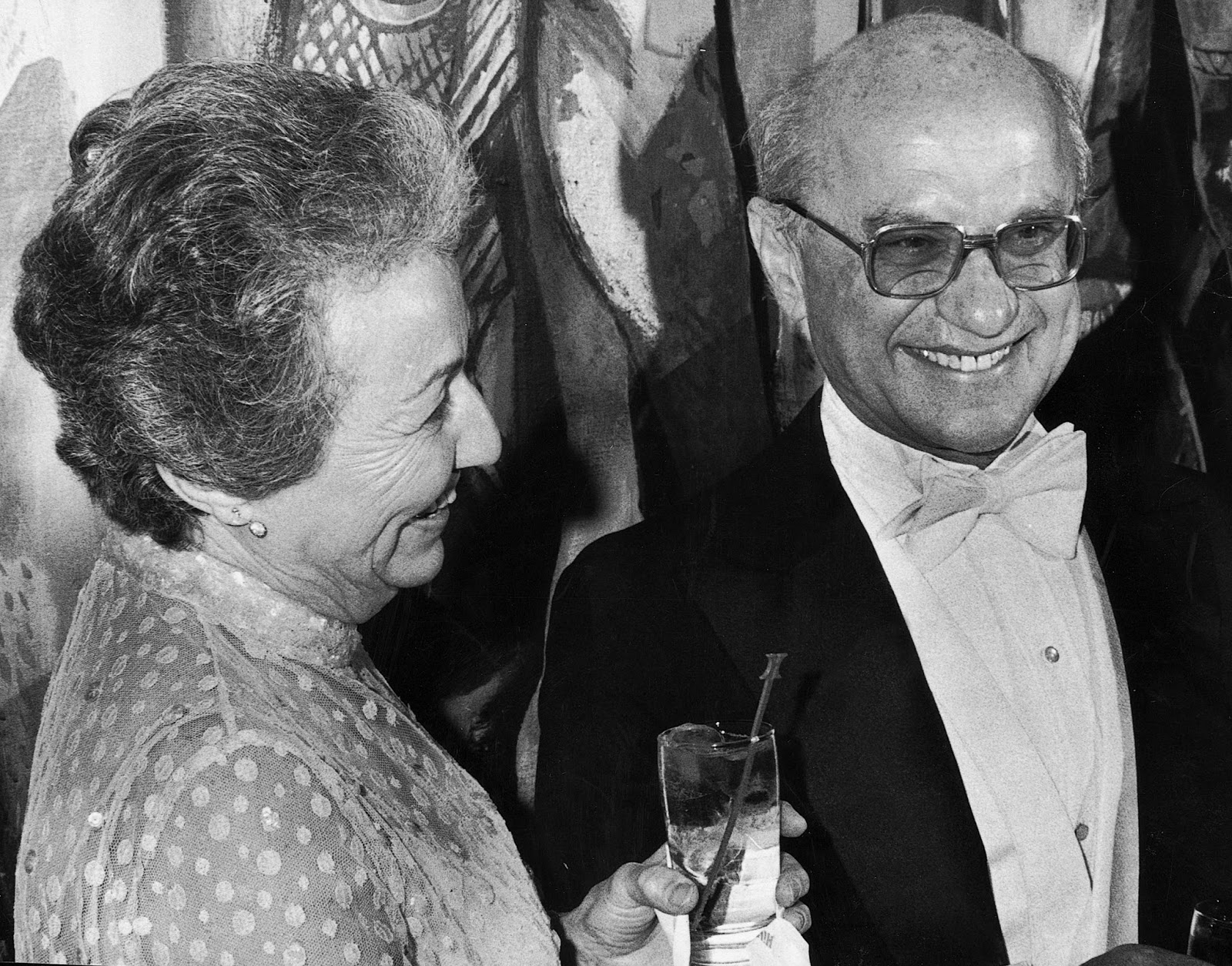 do you agree with milton friedman's Milton friedman's classical  but there should be a clear and large balance of advantages before we do  you could agree with everything that.