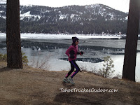 Running the Donner Lake Loop
