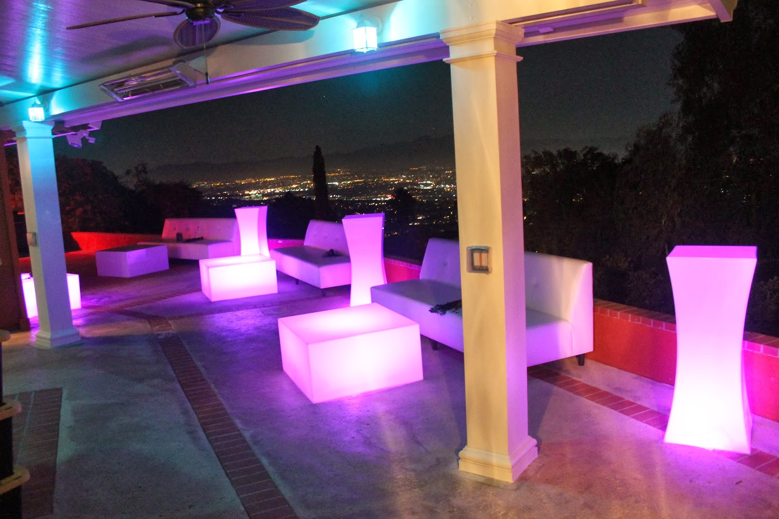 Orange County Party Rentals New Led Light Furniture