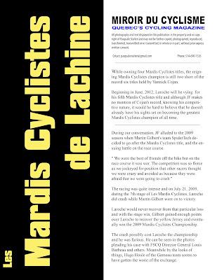 Erratum spotlight on jf laroche miroir du cyclisme for Miroir du cyclisme