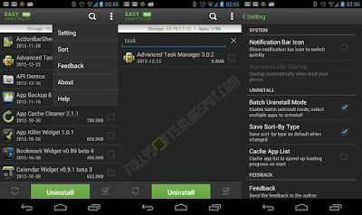 Easy Uninstaller Pro – Clean 3.0.0 APK Final Terbaru
