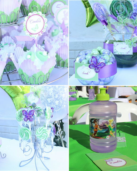 Pixie Fairy Party Ideas Tinker Bell Inspired Birthday Party