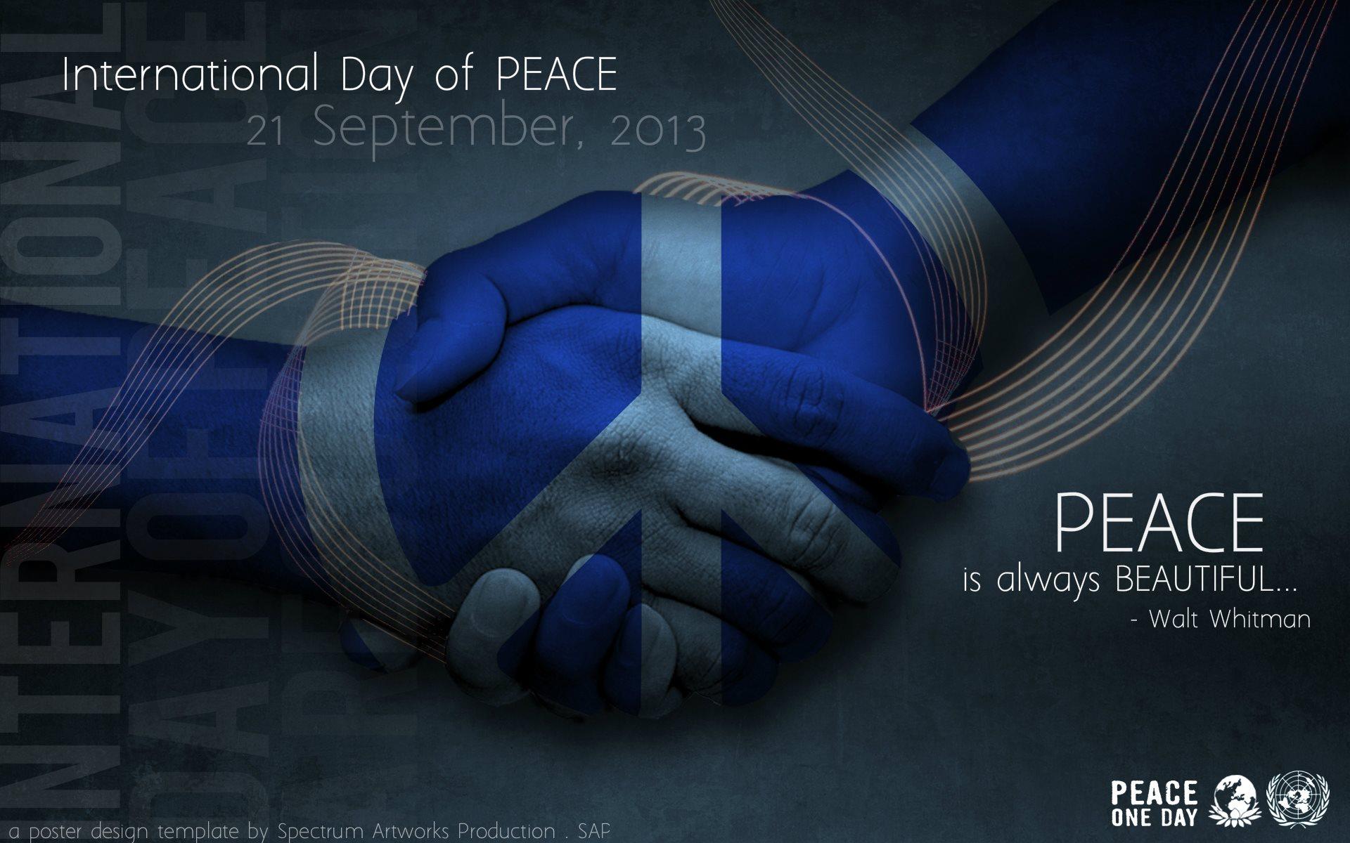 World peace day essays