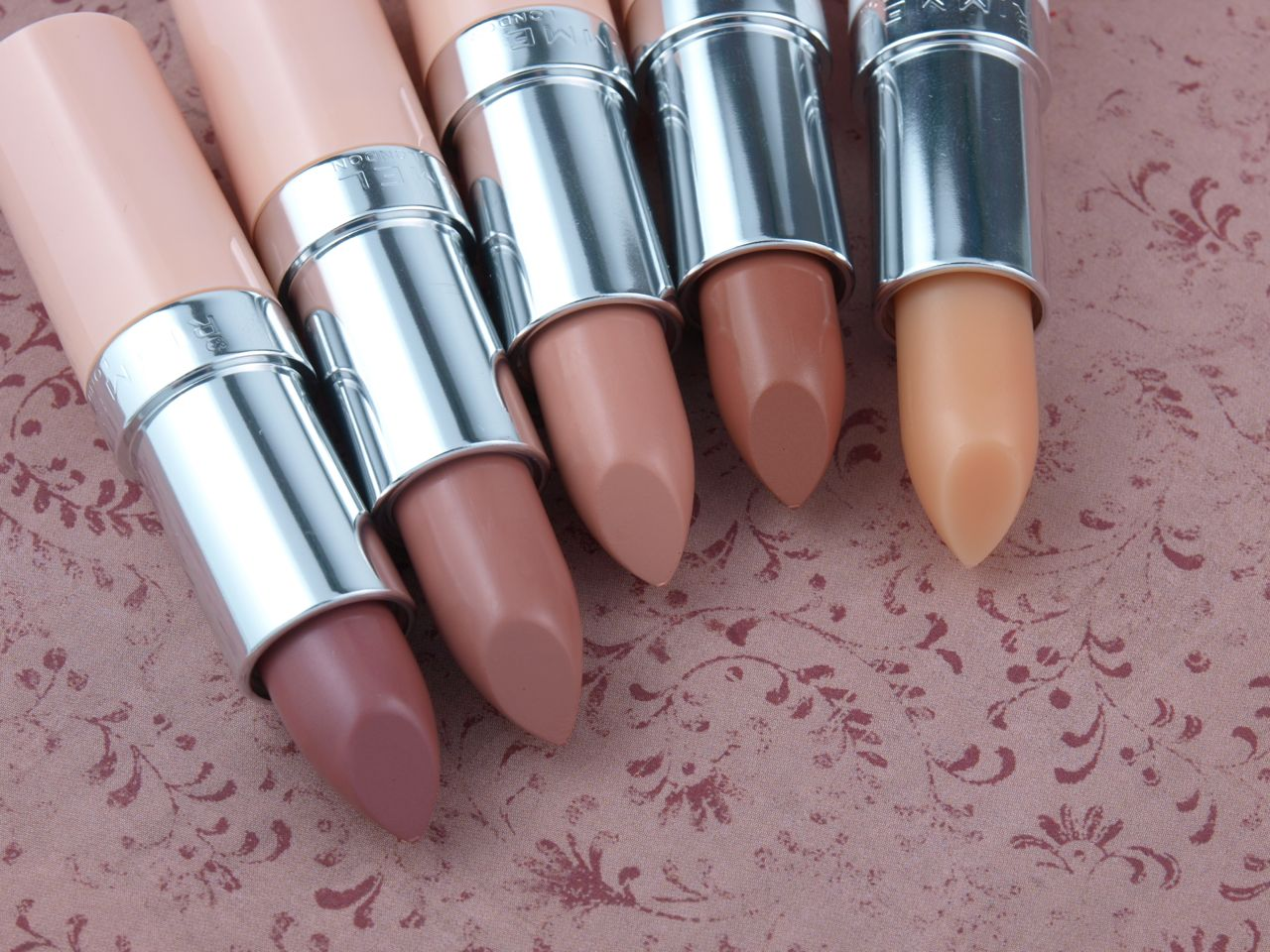 Rimmel London Kate Moss Nude Collection Lipsticks: Review and Swatches