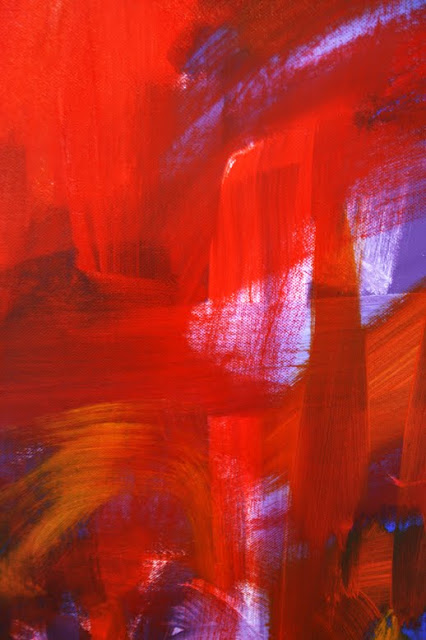 Marc Lawrence Abstract Canvas Acrylic Painting 03