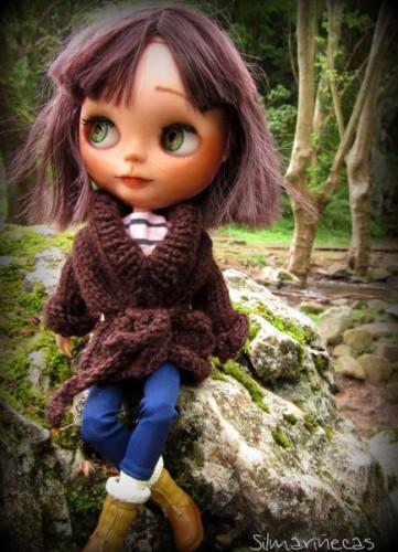 Basaak doll en Cuevas de Zugarramurdi - Navarra