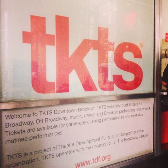 NYC, TKTS Booth,