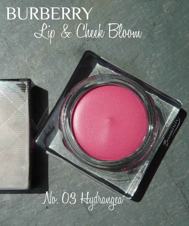 Burberry Lip & Cheek Bloom in No 03 Hydrangea cream blush