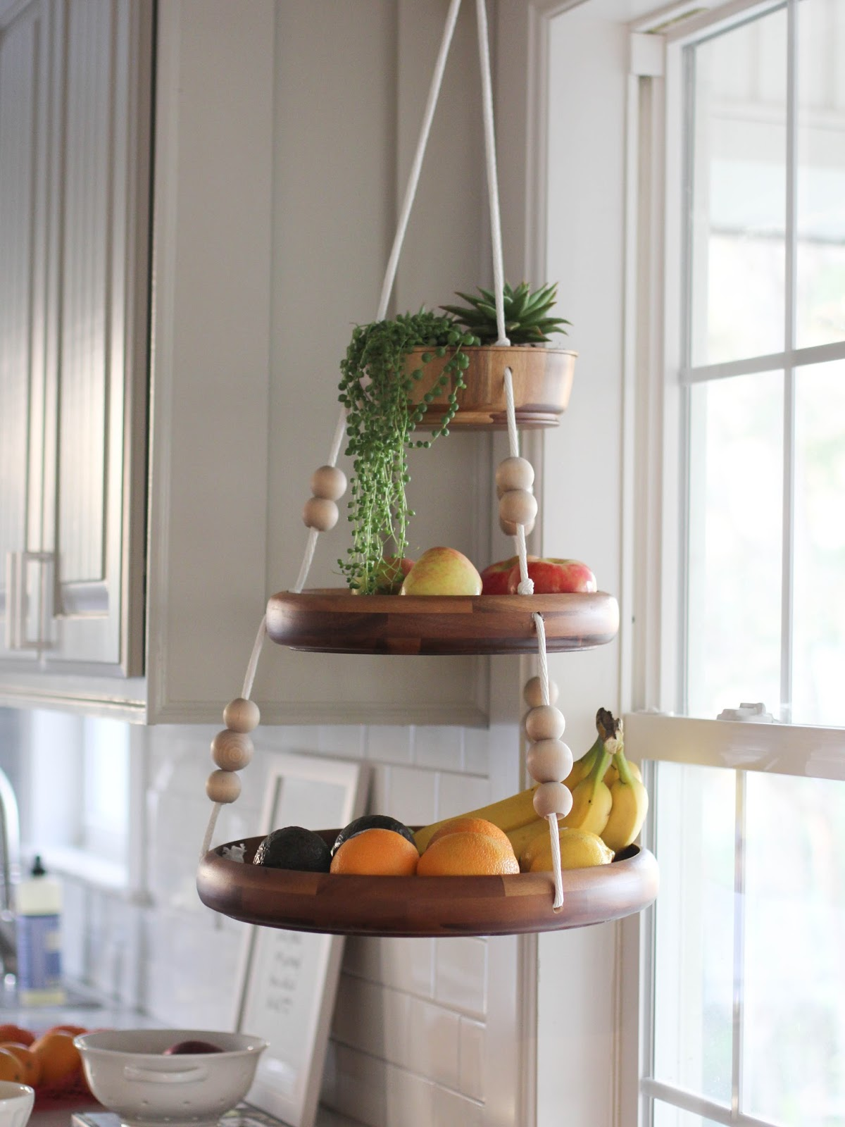 Baskets To Hang On Kitchen Wall