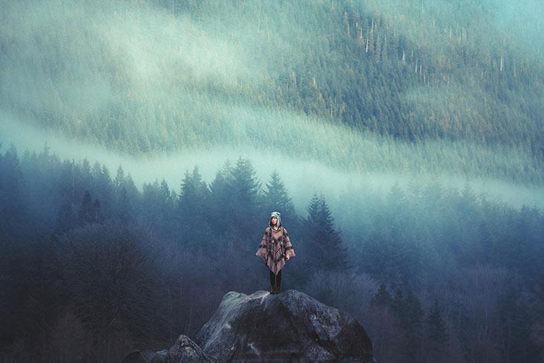 La pasión por los viajes y la belleza natural en la espectacular fotografía de paisajes de Elizabeth Gadd