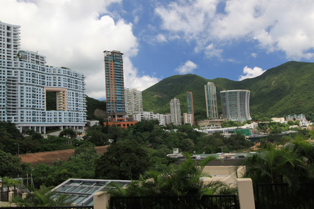 Wealthy homes in Stanley, Hong Kong