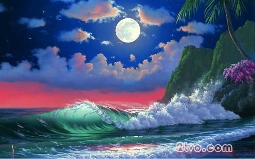 hình nền thiên nhiên full hd con sóng kỳ vỹ