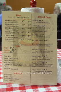 Fat Casual BBQ Menu Back