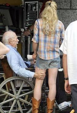 old man dp
