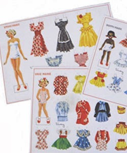 Påklædningsdukker fra Marie Kiks