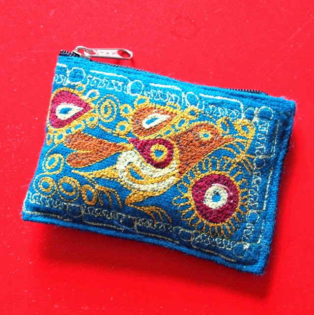Coin Purse from the Cusco Christmas Eve Markets, Peru