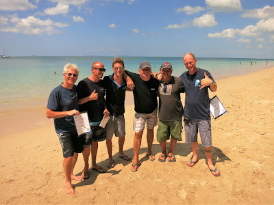 PADI IE for January 2016 on Koh Lanta, Thailand was very successful