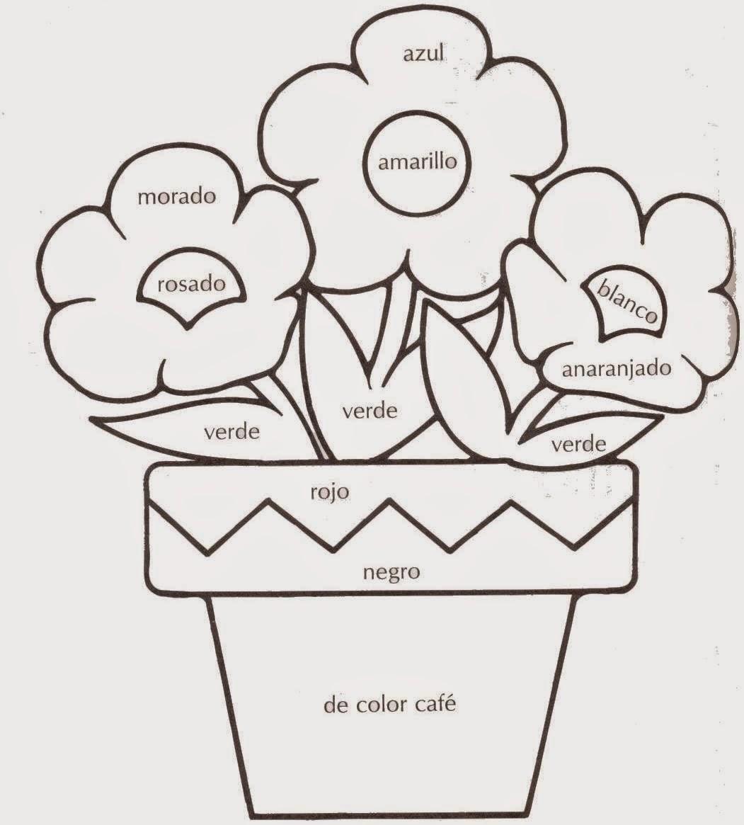 Los colores for Los colores para pintar