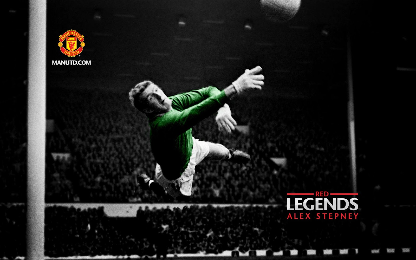 Alex Stepney: Red Legends Manchester United