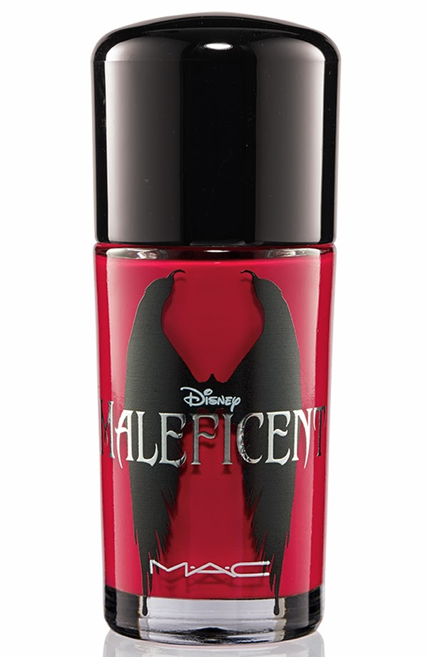 MAC Maleficent collection Nail lacquer Flaming Rose
