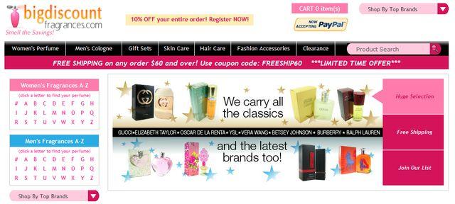 Discounts on Perfume