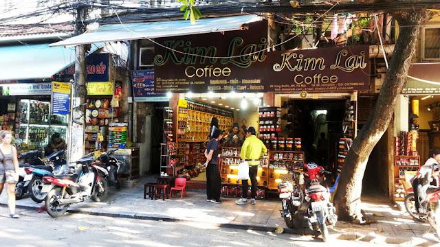 Cafeterias barrio antiguo hanoi, Viajes Vietnam