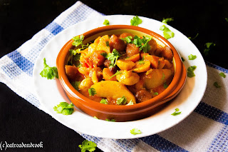 how to cook aloo bori jhol