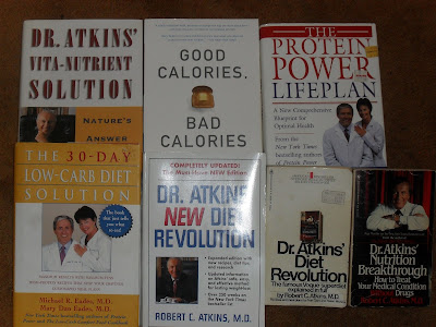 Variety of Low-Carb Diet Books