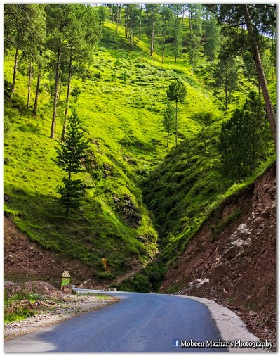 Neelum Valley road near Pattika - Azad Jammu and Kashmir
