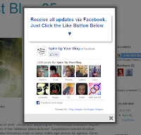 New Facebook Pop Up Like Box for Blogger 2013