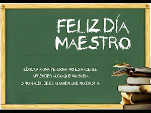 Día del maestro!!!