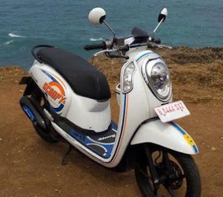 Harga Motor Bekas New Honda Scoopy ESP Second Murah
