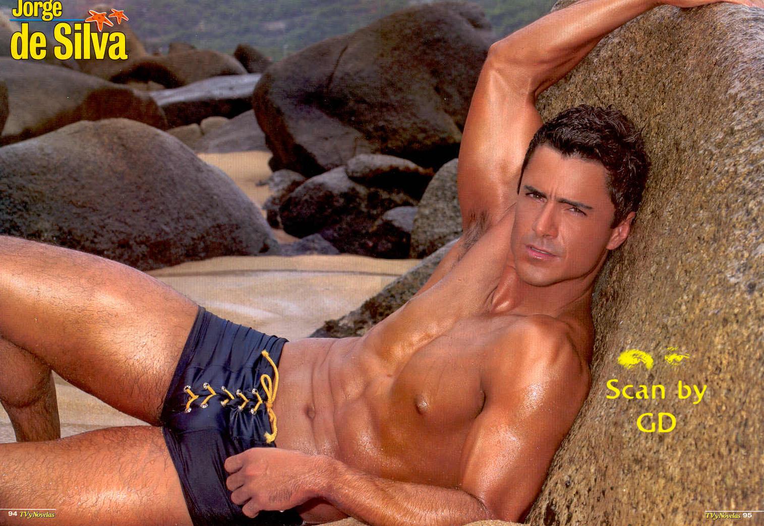 Jorge De Silva Naked 3