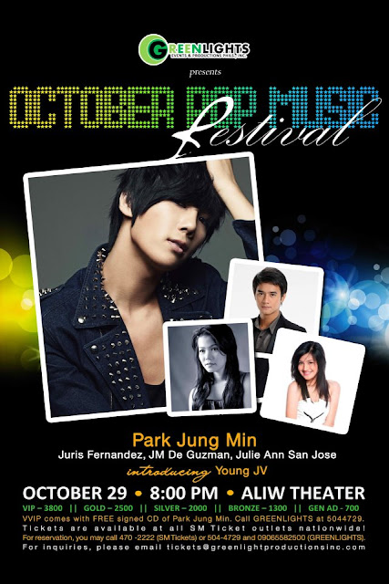 Park Jung Min - Manila Concert