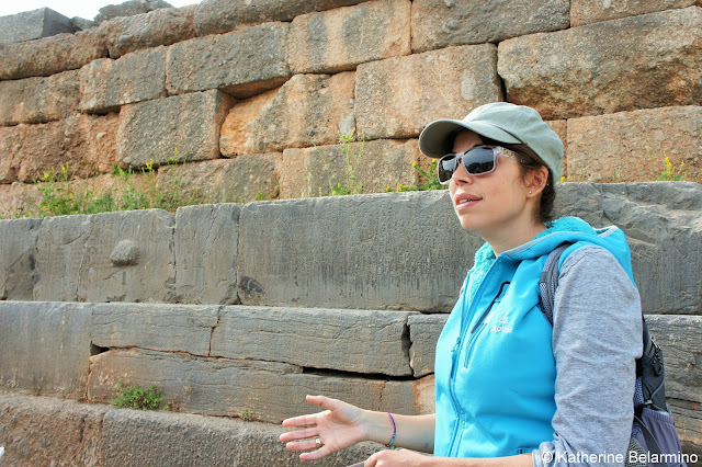 Penny Kolomvotsou Delphi Tour Guide Central Greece Attractions